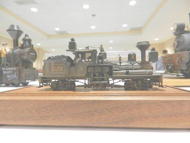 33rd National Narrow Gauge Convention Pasadena, California-2nd place winner in the 'Geared Locomotive' division...