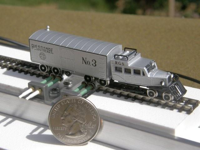 Aspen Models RGS Goose rolling in style upon a New Nn3 Style 1.2 Testtraxx...