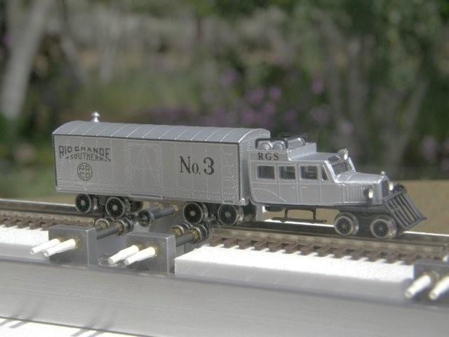 Aspen Models RGS Goose is still rolling in style upon a New N/Nn3 Dual Gauge Style 1.2 Testtraxx...